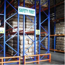 Double-Deep Pallet Racking System