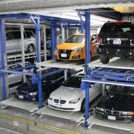 Automatic Car Parking System